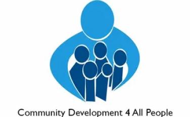Logo: Community Development 4 All People